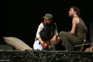Aylin Cadir in No Man's Land - Fotografie de teatru - ghioca.eu