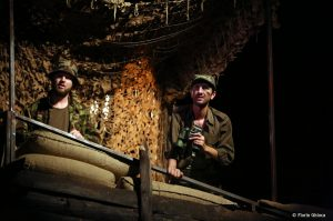 Eduard Adam in No Man's Land - fotografie de teatru - ghioca.eu